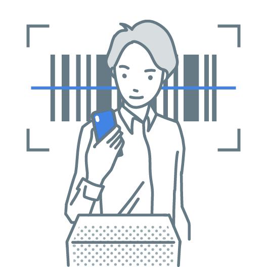 スマートフォンでバーコード(JANコード)をスキャン