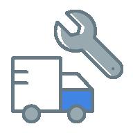 工具とトラック