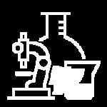 フラスコとビーカーと顕微鏡